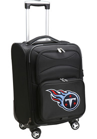 Tennessee Titans 20 Softsided Spinner Luggage - Black