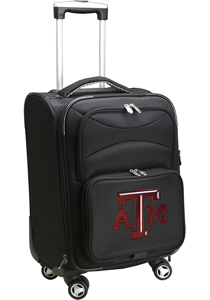 Texas A&M Aggies Black 20 Softsided Spinner Luggage - Image 1