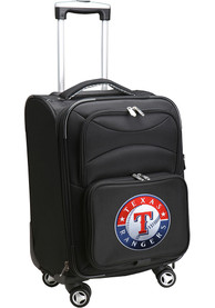 Texas Rangers 20 Softsided Spinner Luggage - Black