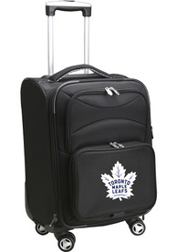 Toronto Maple Leafs 20 Softsided Spinner Luggage - Black