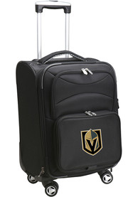 Vegas Golden Knights 20 Softsided Spinner Luggage - Black