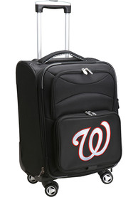 Washington Nationals 20 Softsided Spinner Luggage - Black