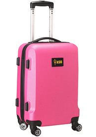 Arizona State Sun Devils 20 Hard Shell Carry On Luggage - Pink