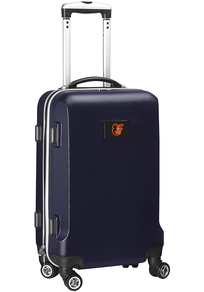 Baltimore Orioles Navy Blue 20 Hard Shell Carry On Luggage - Image 1