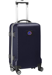 Boise State Broncos Navy Blue 20 Hard Shell Carry On Luggage