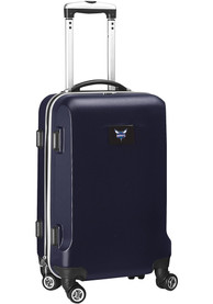 Charlotte Hornets 20 Hard Shell Carry On Luggage - Navy Blue
