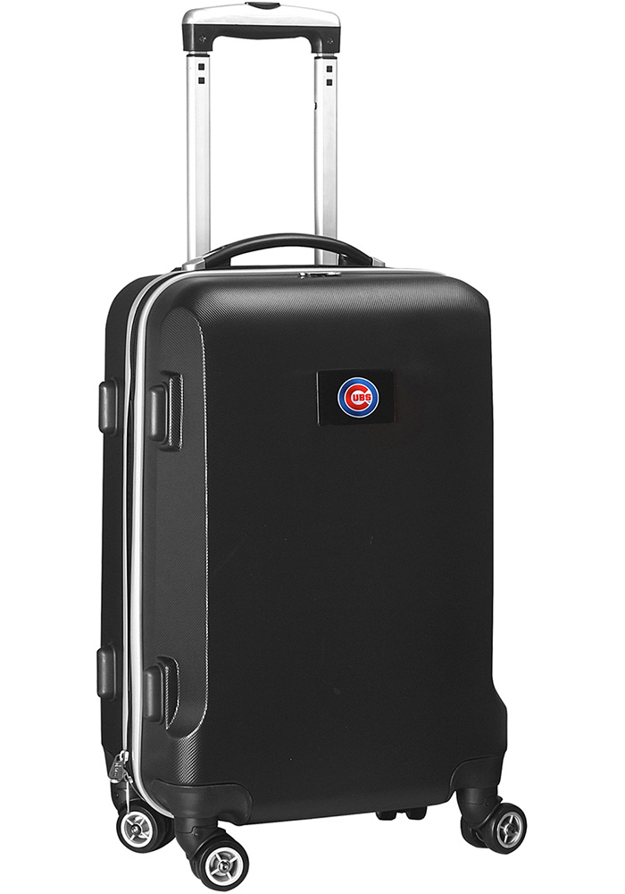 Chicago Cubs Black 20g Hard Shell Carry On Luggage - Image 1