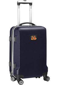 Cincinnati Bengals 20 Hard Shell Carry On Luggage - Navy Blue