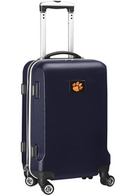 Clemson Tigers 20 Hard Shell Carry On Luggage - Navy Blue