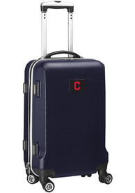 Cleveland Indians 20 Hard Shell Carry On Luggage - Navy Blue