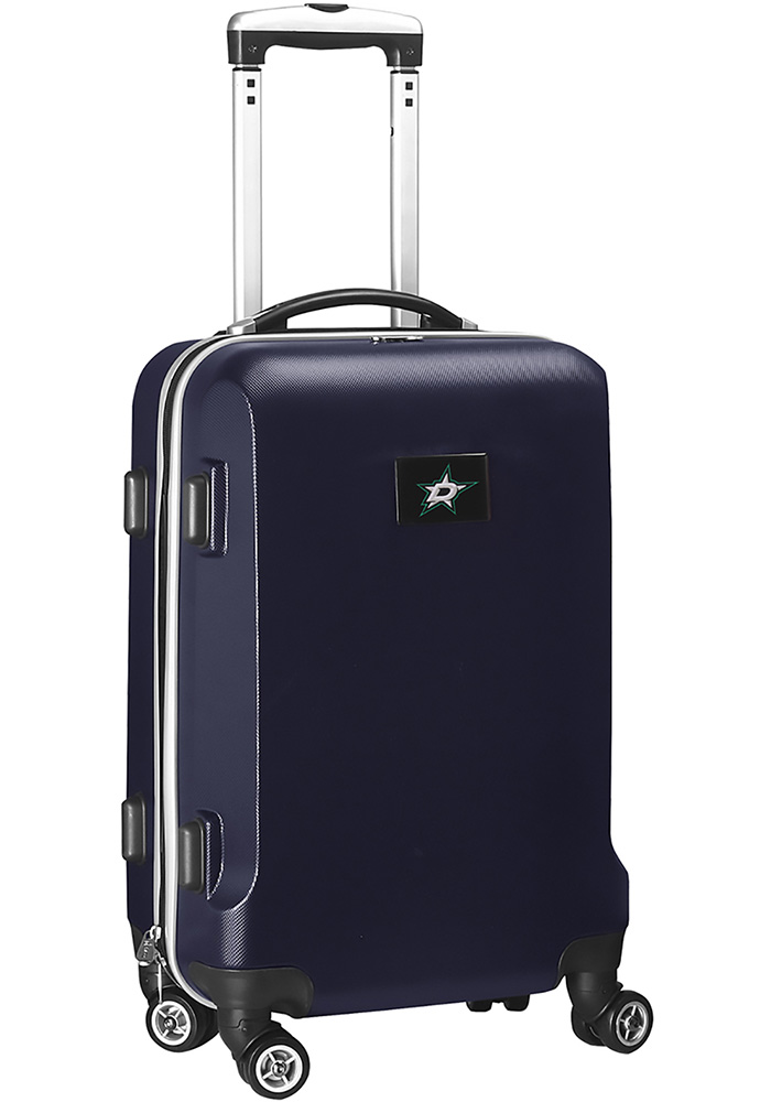Dallas Stars Navy Blue 20 Hard Shell Carry On Luggage - Image 1