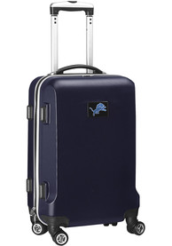 Detroit Lions 20 Hard Shell Carry On Luggage - Navy Blue