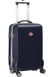 Detroit Pistons Navy Blue 20 Hard Shell Carry On Luggage