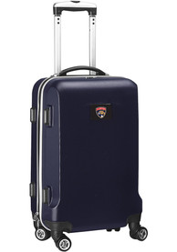 Florida Panthers 20 Hard Shell Carry On Luggage - Navy Blue