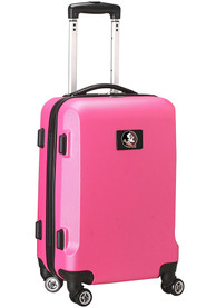 Florida State Seminoles 20 Hard Shell Carry On Luggage - Pink