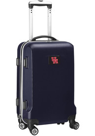 Houston Cougars 20 Hard Shell Carry On Luggage - Navy Blue