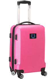 Indianapolis Colts Pink 20 Hard Shell Carry On Luggage