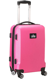 Los Angeles Clippers Pink 20 Hard Shell Carry On Luggage
