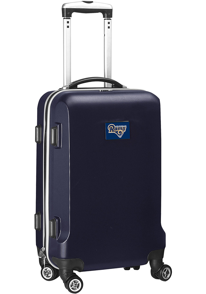 Los Angeles Rams Navy Blue 20 Hard Shell Carry On Luggage - Image 1