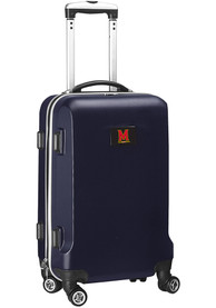 Maryland Terrapins Navy Blue 20 Hard Shell Carry On Luggage