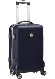 Miami Dolphins Navy Blue 20 Hard Shell Carry On Luggage