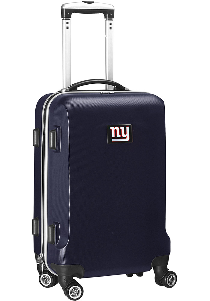 New York Giants Navy Blue 20g Hard Shell Carry On Luggage - Image 1