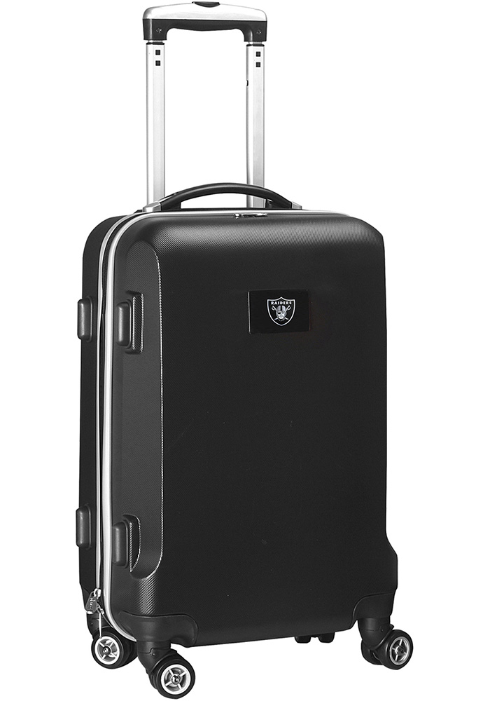 Oakland Raiders Black 20g Hard Shell Carry On Luggage - Image 1