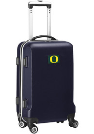 Oregon Ducks Navy Blue 20 Hard Shell Carry On Luggage