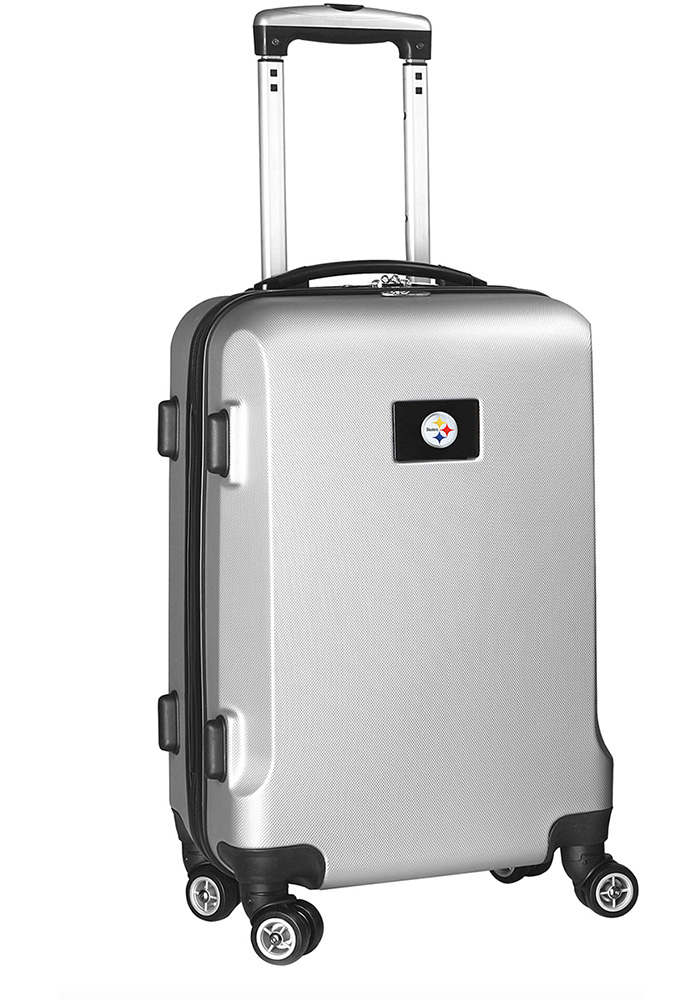 Pittsburgh Steelers Silver 20g Hard Shell Carry On Luggage - Image 1