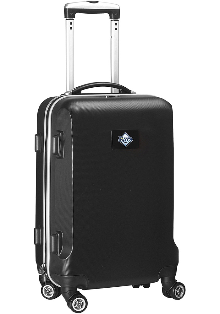 Tampa Bay Rays Black 20g Hard Shell Carry On Luggage - Image 1