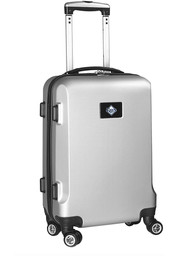 Tampa Bay Rays Silver 20 Hard Shell Carry On Luggage
