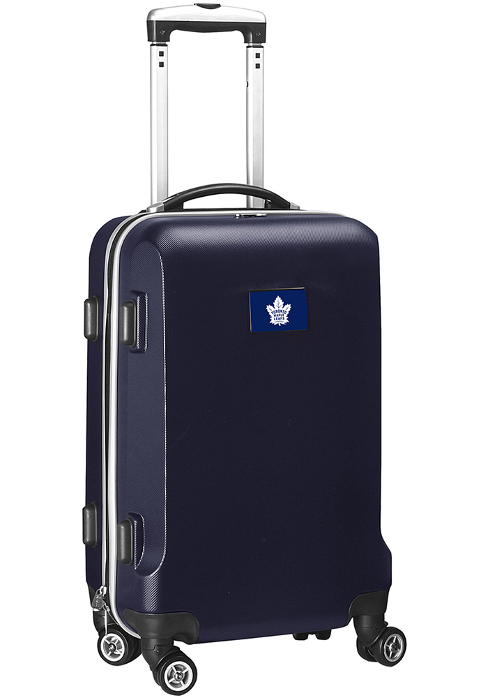 Toronto Maple Leafs Navy Blue 20 Hard Shell Carry On Luggage - Image 1