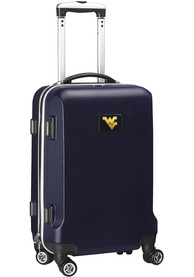 West Virginia Mountaineers Navy Blue 20 Hard Shell Carry On Luggage