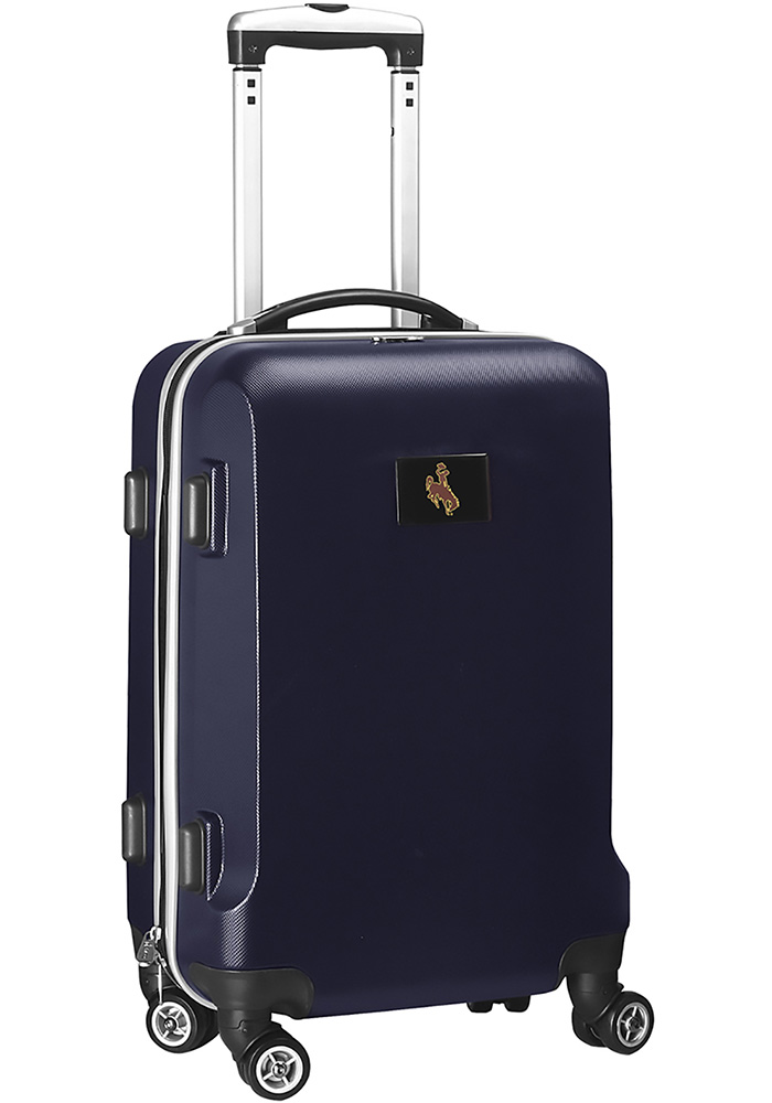 Wyoming Cowboys Navy Blue 20 Hard Shell Carry On Luggage