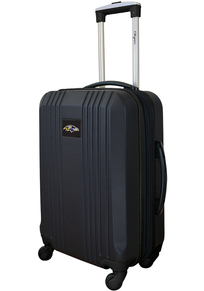 Baltimore Ravens Black 21g Two Tone Luggage - Image 1