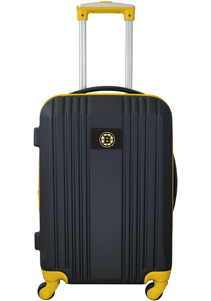Boston Bruins Yellow 21g Two Tone Luggage - Image 1