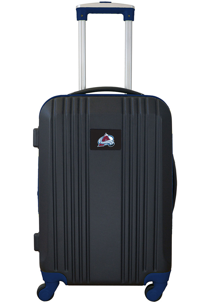 Colorado Avalanche Navy Blue 21g Two Tone Luggage - Image 1