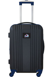 Colorado Avalanche Navy Blue 21 Two Tone Luggage