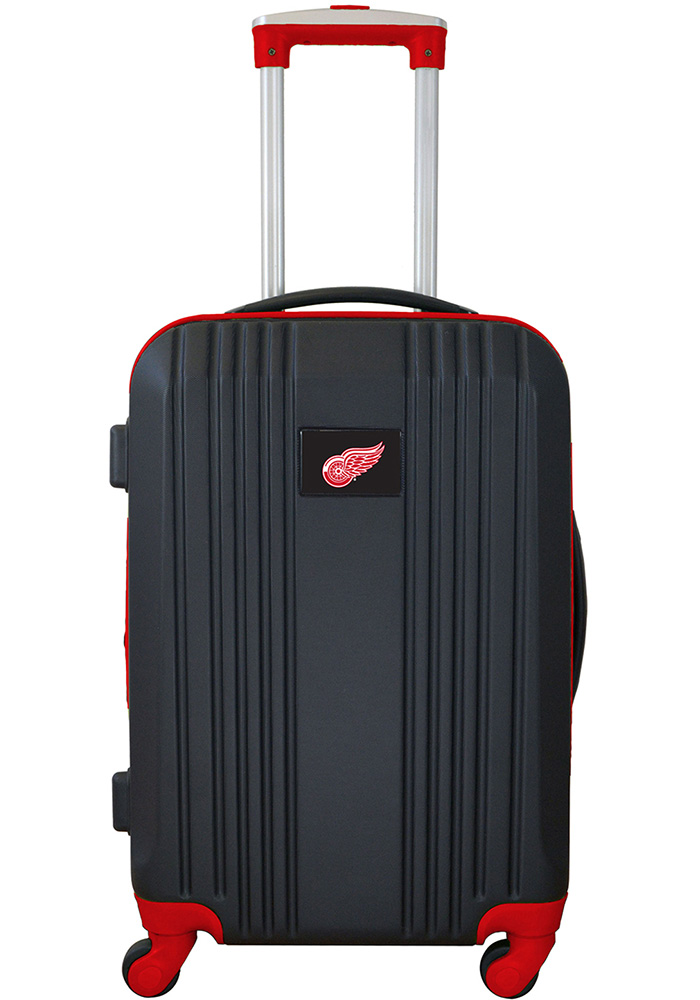 Detroit Red Wings Red 21g Two Tone Luggage - Image 1