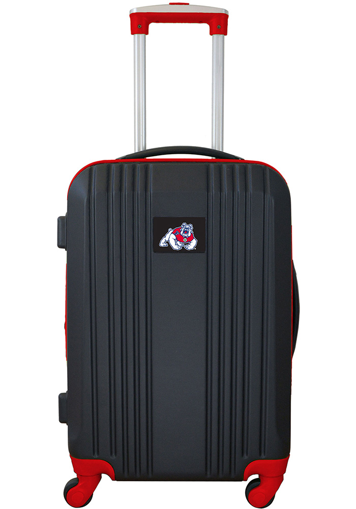 Fresno State Bulldogs Red 21g Two Tone Luggage - Image 1