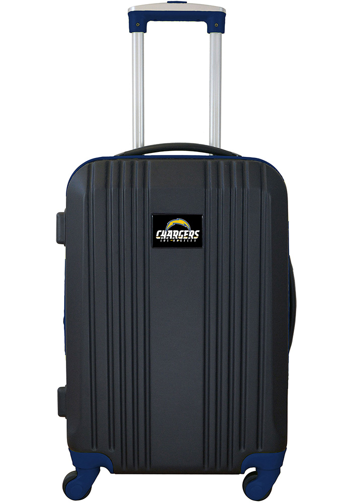 Los Angeles Chargers Navy Blue 21 Two Tone Luggage - Image 1