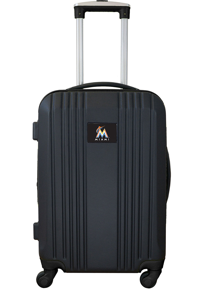 Miami Marlins Black 21g Two Tone Luggage - Image 1