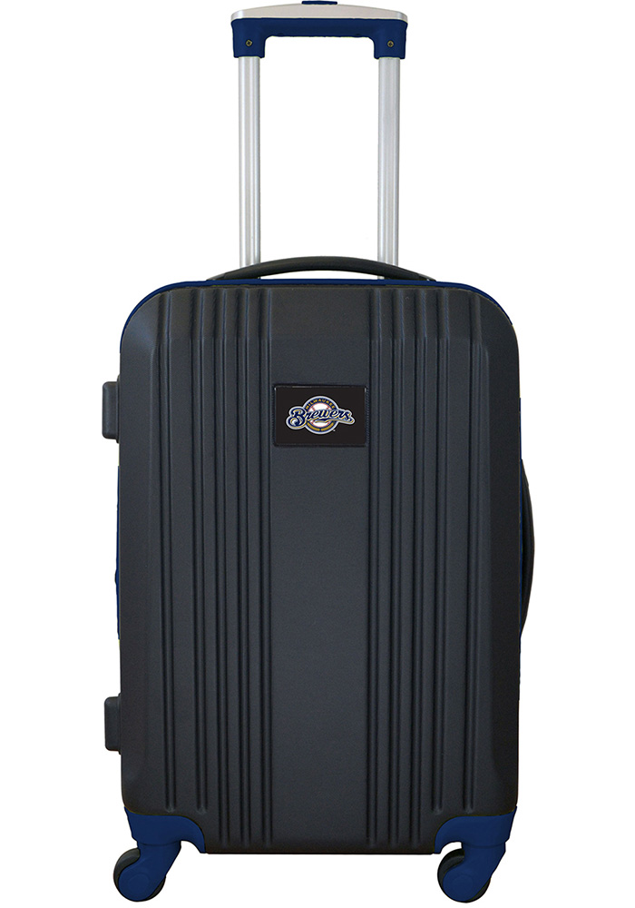 Milwaukee Brewers Navy Blue 21g Two Tone Luggage - Image 1