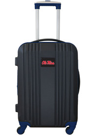 Ole Miss Rebels Navy Blue 21 Two Tone Luggage