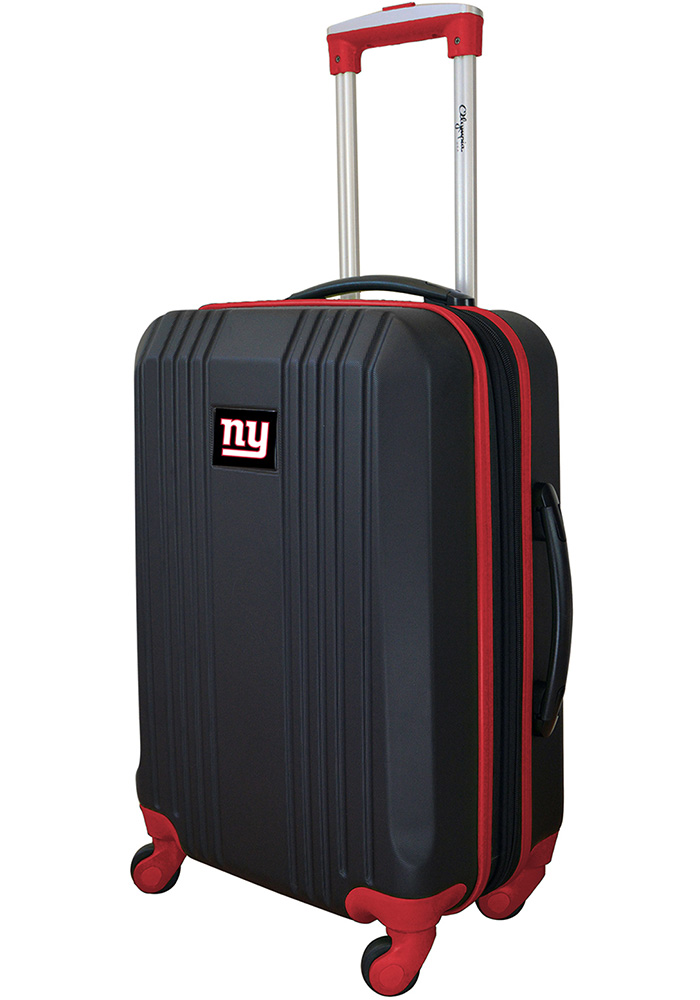 New York Giants Red 21g Two Tone Luggage - Image 1
