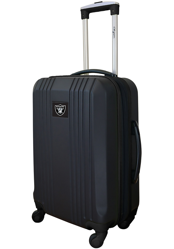 Oakland Raiders Black 21g Two Tone Luggage - Image 1