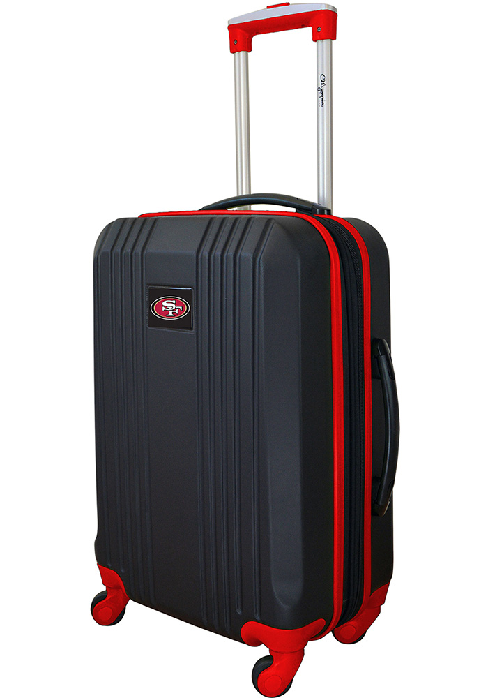 San Francisco 49ers Red 21g Two Tone Luggage - Image 1