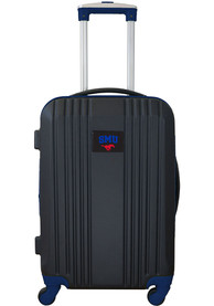 SMU Mustangs Navy Blue 21 Two Tone Luggage