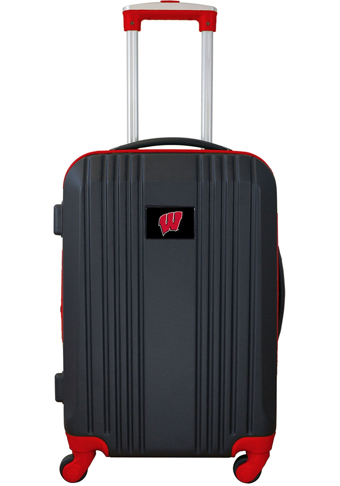 Wisconsin Badgers Red 21g Two Tone Luggage - Image 1