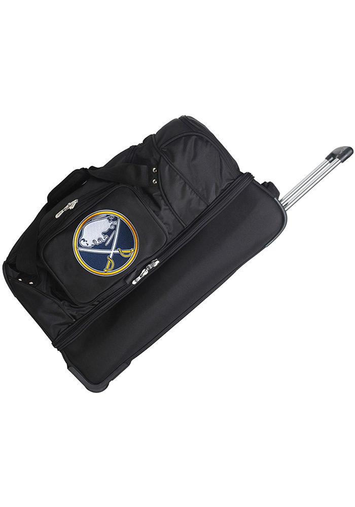 Buffalo Sabres Black 27g Rolling Duffel Luggage - Image 1
